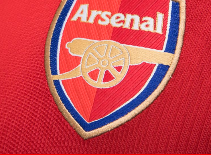 Arsenal logo from club shirt