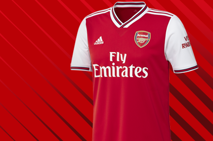 Arsenal team shirt
