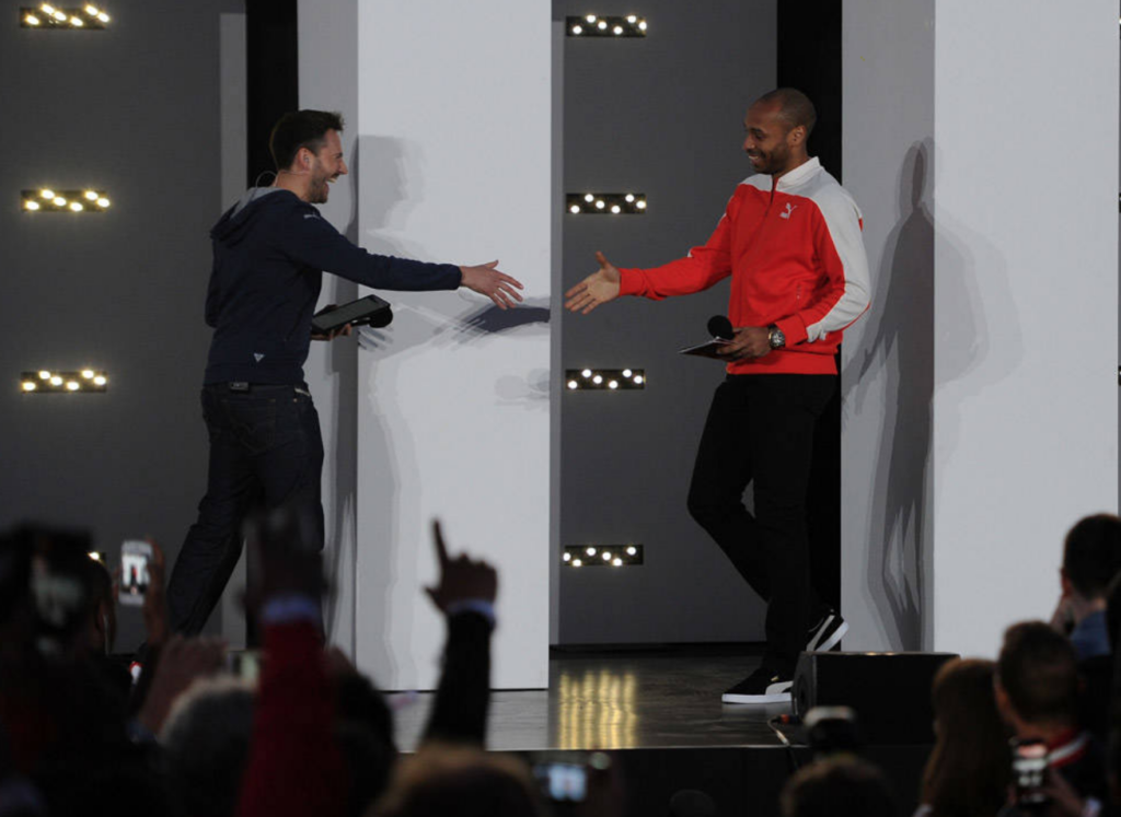 Nigel Mitchell, Thierry Henry